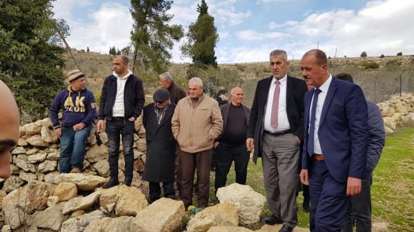 الصالح: مستمرون بالعمل في مناطق (ج) رغم كل ممارسات الاحتلال