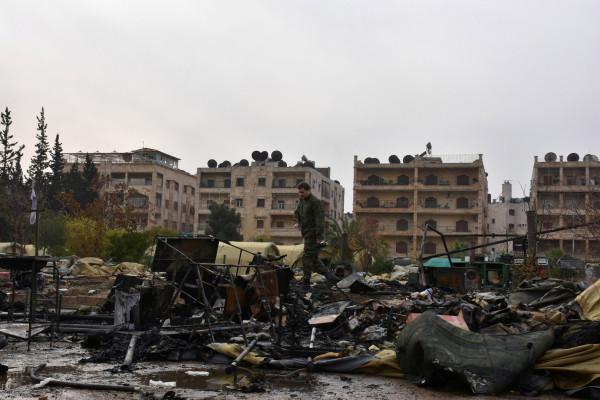 سوريا: مقتل مدني وإصابة إثنين بقذائف المسلحين في حلب