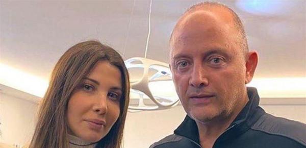 أول ظهور لنانسي عجرم مع ابنتيها منذ حادث القتل