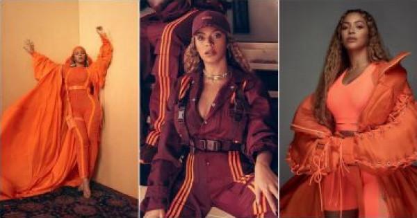 الصور الأولى من مجموعة بيونسيه للملابس الرياضية