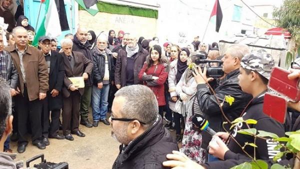 اعتصام في عين الحلوة احتجاجاً على تردي الأوضاع المعيشية