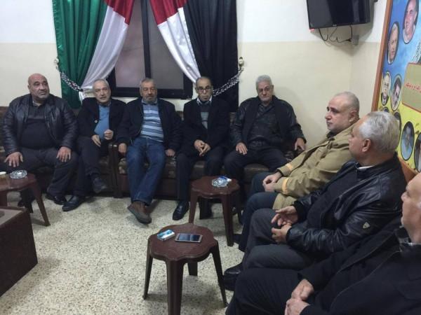 """حركة """"فتح"""" في صيدا تستقبل وفدًا من """"الجبهة الشعبية لتحرير فلسطين"""""""