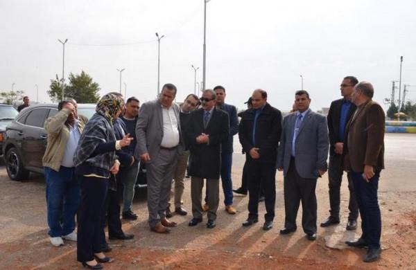 محافظ الاسماعيلية يتفقد مشروعات المقاولون العرب بالمحافظة