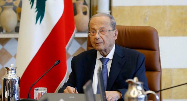 الرئيس اللبناني يطلب من قادة الجيش والأمن استعادة الهدوء بوسط بيروت