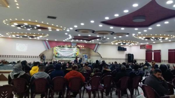 مجلس شباب عائلات رفح يحتضن تكريم أسر شهداء فلسطين