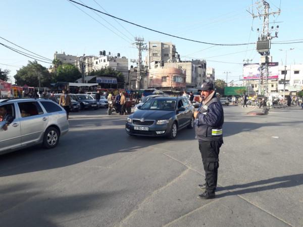 إدارة المرور بغزة تُوضّح تطورات حالة الطرق اليوم