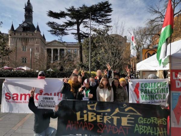 """يوم إعلامي تضامني مع الحركة الأسيرة وسعدات في """"تولوز"""" الفرنسية"""