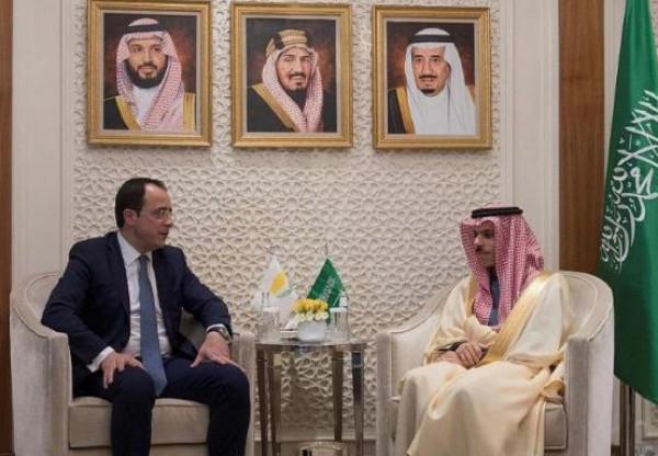 السعودية تؤكد دعمها لسيادة قبرص على أراضيها