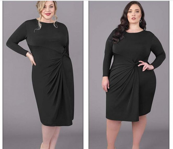 شركة ملابس بريطانية تستخدم ثماني عارضات لمنتج واحد