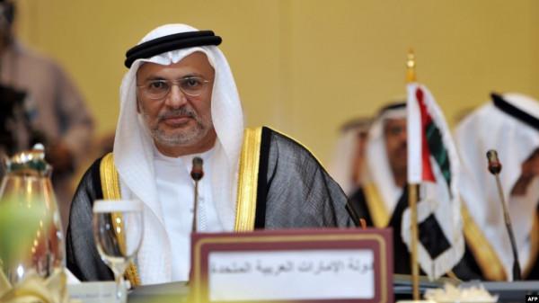 قرقاش يُعلن دعم الإمارات لمؤتمر برلين: تهميش الدور العربي لن يتكرر