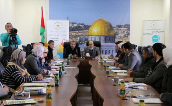 جامعة الاستقلال تعقد ورشة عمل بالتعاون مع ديوان الموظفين العام
