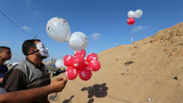 مسؤول إسرائيلي: إذا لم يتوقف إطلاق البالونات سنُهاجم غزة