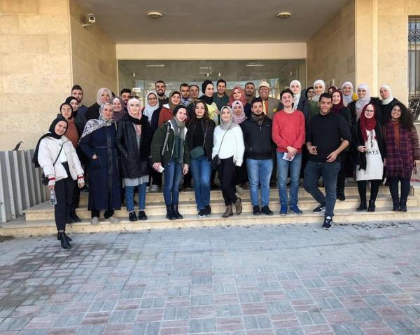 برنامج (زاجل) في جامعة النجاح يختتم فعاليات مخيمه البيئي الخامس