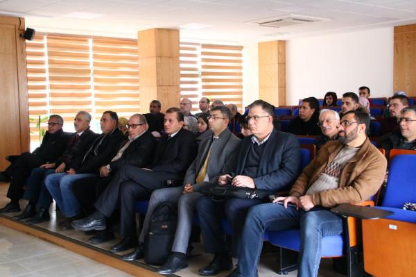 """جامعة بوليتكنك فلسطين تنظم ورشة """"المحاكاة العددية تطبيقات رياضية هندسية وإحصائية محوسبة"""""""