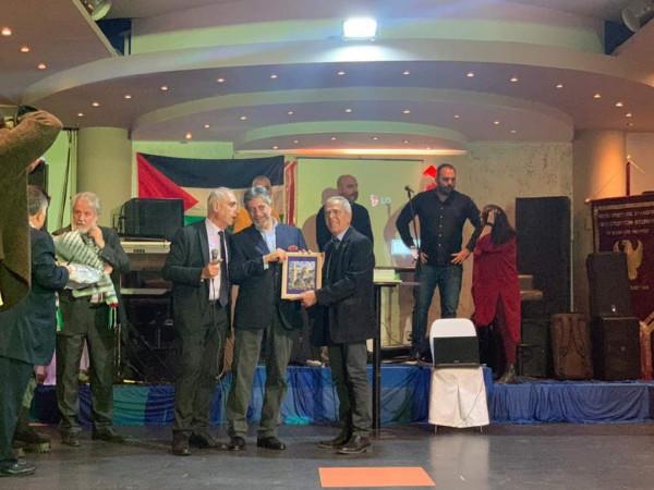 طوباسي يزور مدينة سألونيك و يشارك بحفل لاتحاد أصدقاء فلسطين