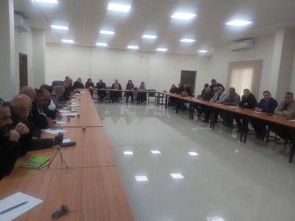 """مجلس التعبئة الفكرية والتدريب يعقد ثالث لقاءاته في أكاديمية """"فتح"""" الفكرية"""