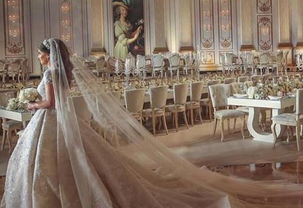 حفل زفاف أسطوري بالسعودية.. والعروس من الشخصيات المهمة في المجتمع