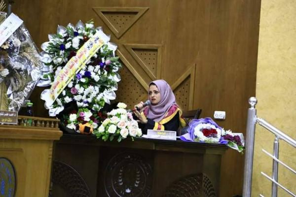 """جامعة الأزهر تمنح رسالة ماجستير بـ""""تشخيص أورام الحوض"""" للباحثة ربا سمير الجبور"""