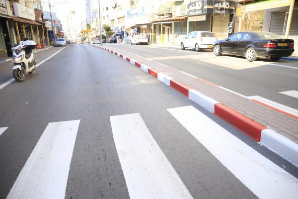 بلدية قلقيلية تنجز إعادة تأهيل وصيانة وتعبيد مجموعة شوارع رئيسية وفرعية بالمدينة