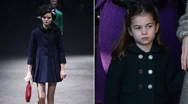 """أزياء """"غوتشي"""" مستوحاة من ملابس الأميرة شارلوت"""