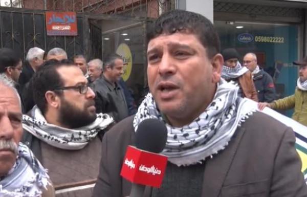 أبو كرش: سيكون لنا سلسلة فعاليات إذا لم تستجب الحكومة والقيادة لمطالبنا