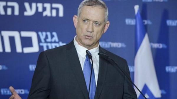 غانتس: سنضم غور الأردن لإسرائيل بعد انتخابات الكنيست