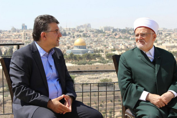 النائب جبارين: نقفُ الى جانب الشيخ عكرمة صبري ونضاله لنصرة القدس