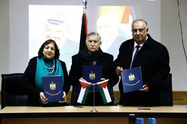 توقيع اتفاقية شراكة في برنامج الطب البشري بين القطاع الحكومي وجامعة البوليتكنك