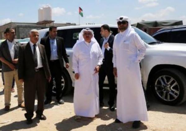 وصول نائب السفير القطري إلى القطاع عبر معبر بيت حانون