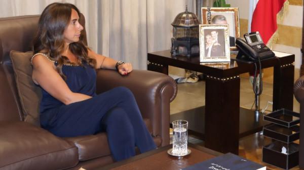 زينة عكر عدرا.. أول إمرأة تتولى حقيبة الدفاع في لبنان والوطن العربي
