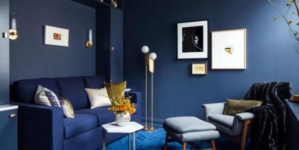 ست أفكار لاستخدام الأزرق الكلاسيكي فى ديكور البيت