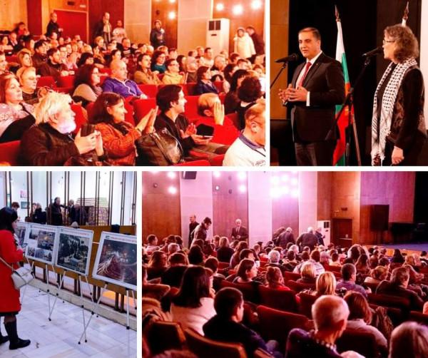 افتتاح امسية السينما الفلسطينية في العاصمة البلغارية صوفيا