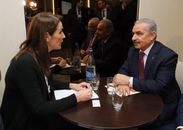 اشتية يدعو بروكسل وبيرن للإسراع بالاعتراف بفلسطين لمواجهة التهديد بالضم