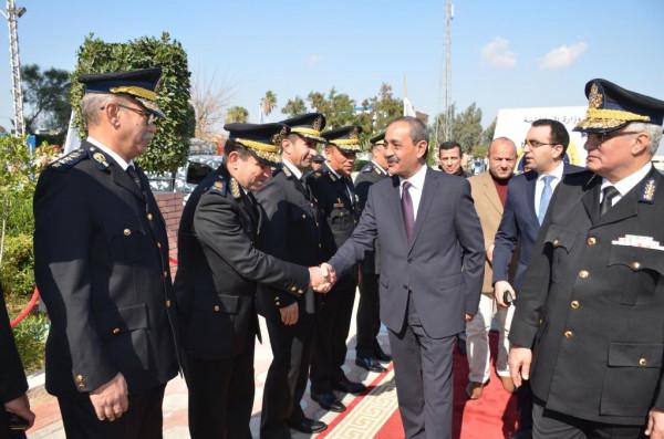 محافظ الإسماعيلية وقائد الجيش الثاني الميداني يشهدان احتفالات مديرية أمن الإسماعيلية