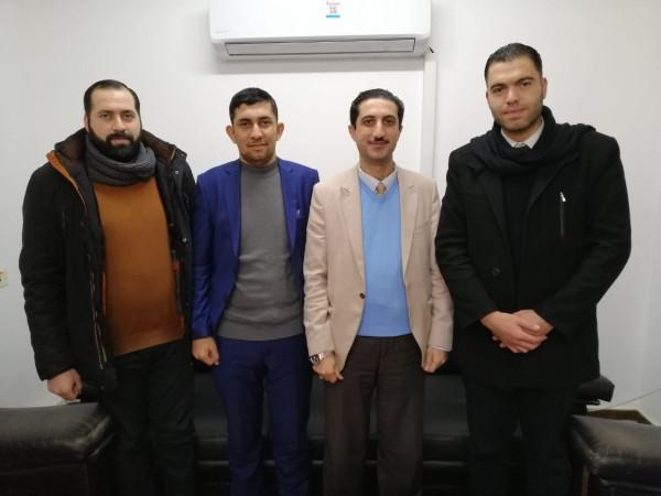 لتعزيز التعاون بين المركز والمؤسسات الرسمية.. حماية ينظم زيارة لوزارة الإقتصاد بغزة