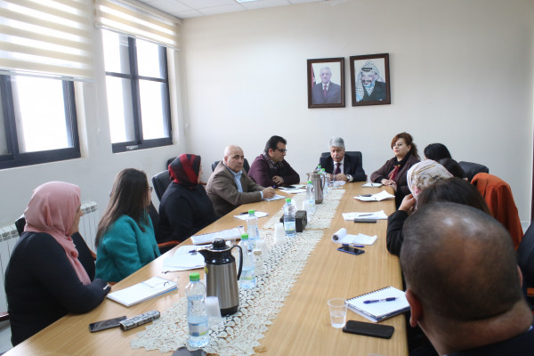 مجدلاني يلتقي لجنة وفاق للجان المصالحة الوطنية