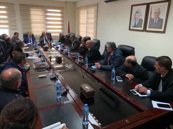 اجتماع مشترك لوزيري المالية والاقتصاد مع ممثلي القطاع الخاص