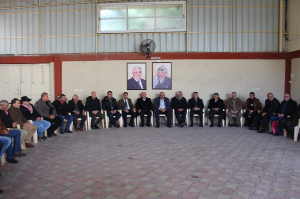 قيادة فتح بغزة تستقبل وفداً من الجبهة الديمقراطية للتهنئة بذكرى الانطلاقة