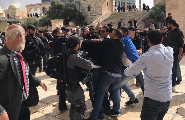 """الخارجية الأردنية تدين اعتداء الاحتلال على المصلين في """"الأقصى"""""""