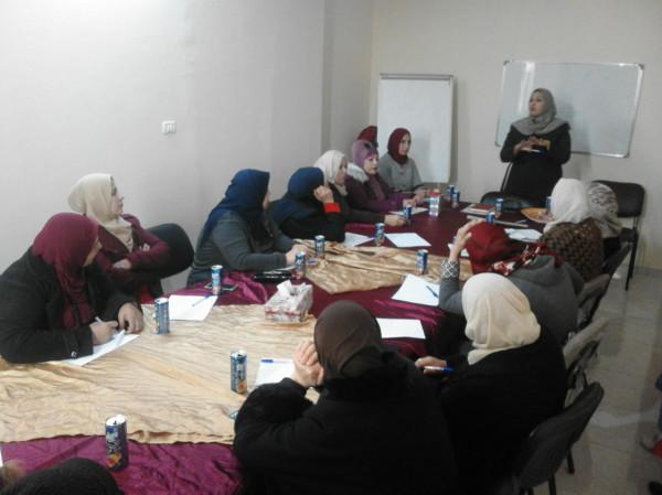 اللجنة الشعبية بالشاطئ تشارك بلقاء ثقافي حول العنف المبني ضد النوع الاجتماعي