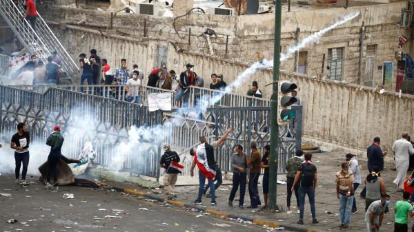 مقتل متظاهريْن برصاص قوات الأمن العراقية وسط بغداد