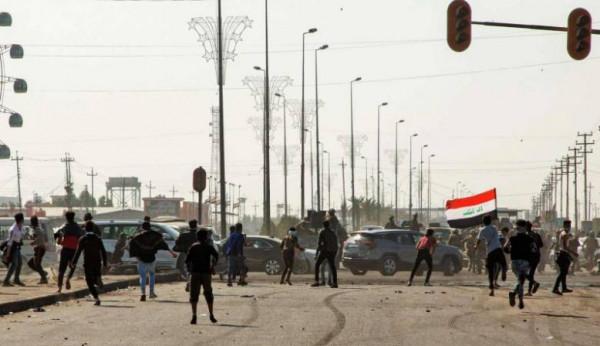 إعادة فتح ساحات وشوارع في بغداد ومدن جنوبية