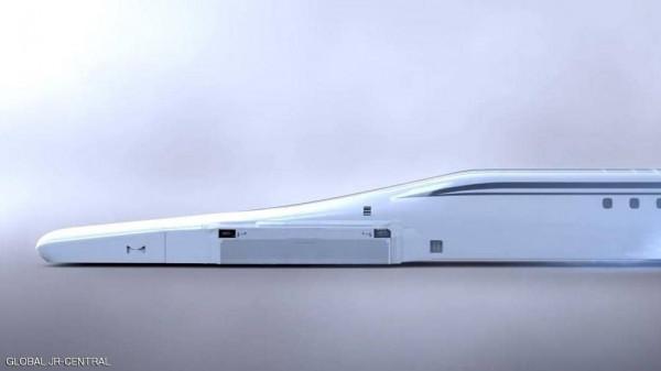 """اليابان تصنع قطارا """"يطير"""" بسرعة 600 كيلو متر فى الساعة"""