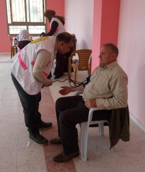 العيادة المتنقلة تصل إلى محافظة الخليل