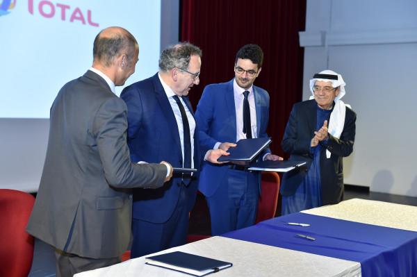 توقيع اتفاقية تعاون بين تاليس وتوتال وجامعة السوربون أبوظبي