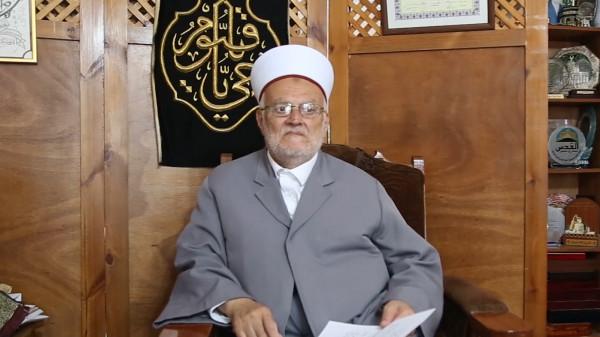 عكرمة صبري: حملة الفجر ترعب الاحتلال وتغيظه