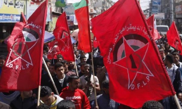 """""""الديمقراطية"""" تدعو الأحزاب والقوى السياسية والمجتمعية العربية للوقوف لجانب شعبنا"""