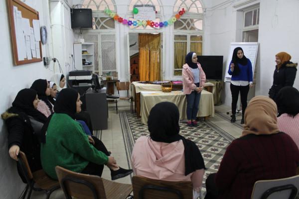 """تأهيل فتيات نابلس ينظم لقاء""""معرفة الذات"""" ومركز رونالدو يعقد تدريب """"اعادة التدوير"""""""