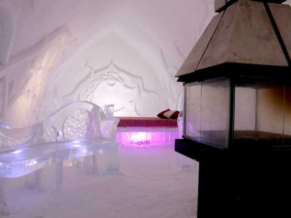 تعرف على ديكور فندق جليدي في كندا