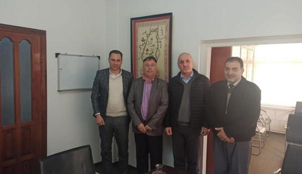 وفد من بلدية قلقيلية يحل ضيفاً على مؤسسة تيكا التركية